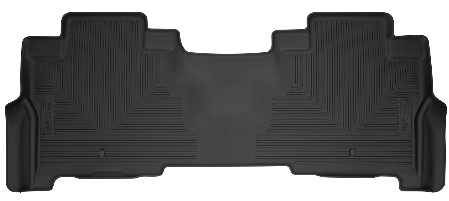 X-act ContourT Floor Liner, Black, 1 Pc., Rear, TPE Thermoplastic Elastomer