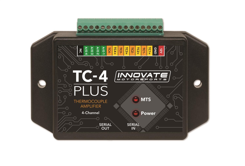 Innovate Motorsports 3915 TC-4 Plus Thermocouple Amplifier Sensor Interface