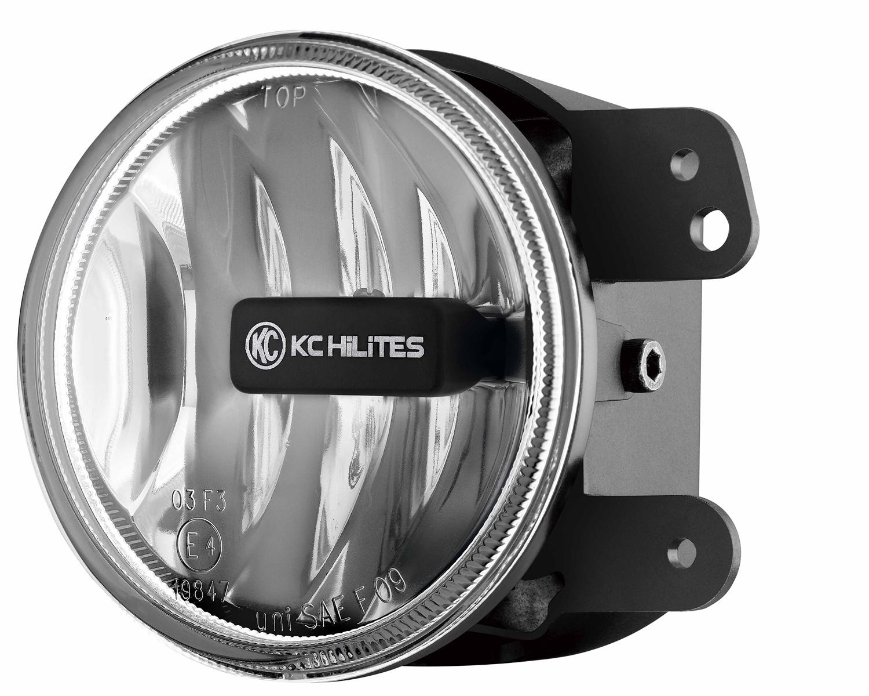 KC HiLites 4in Gravity LED Fog Light Single Clear
