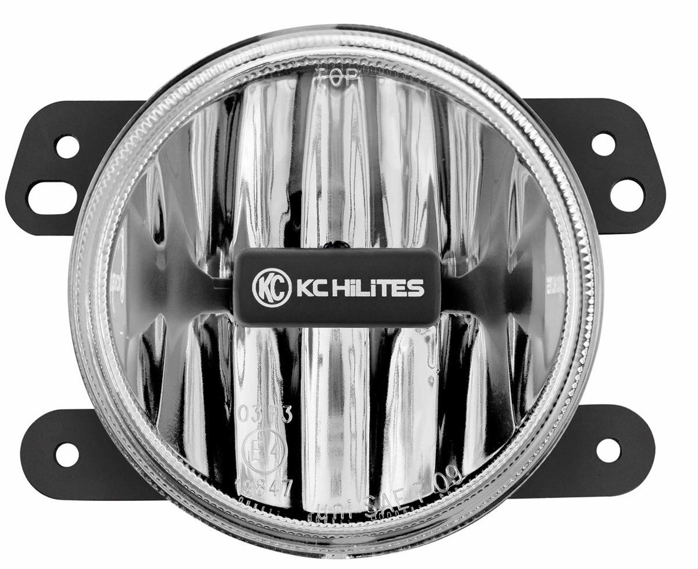 KC HiLites  4in Gravity LED Fog Light Single Amber
