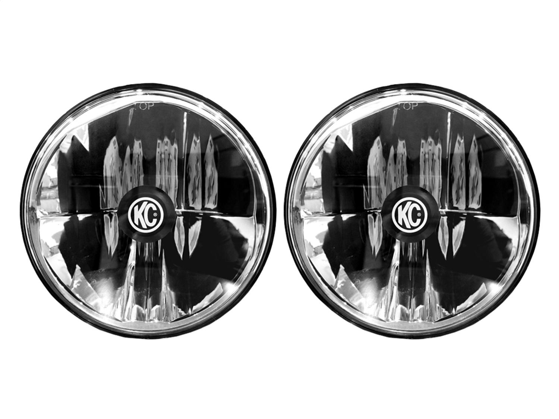 KC Hilites Gravity LED Headlights, Pair - JK