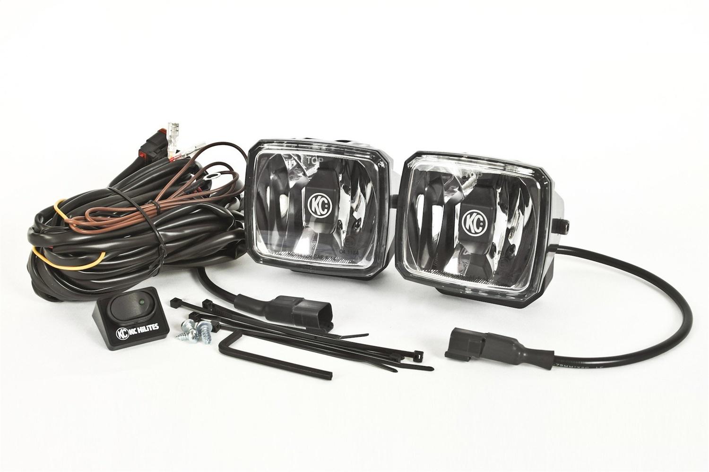KC HiLiTES Gravity G34 LED Lights- Driving