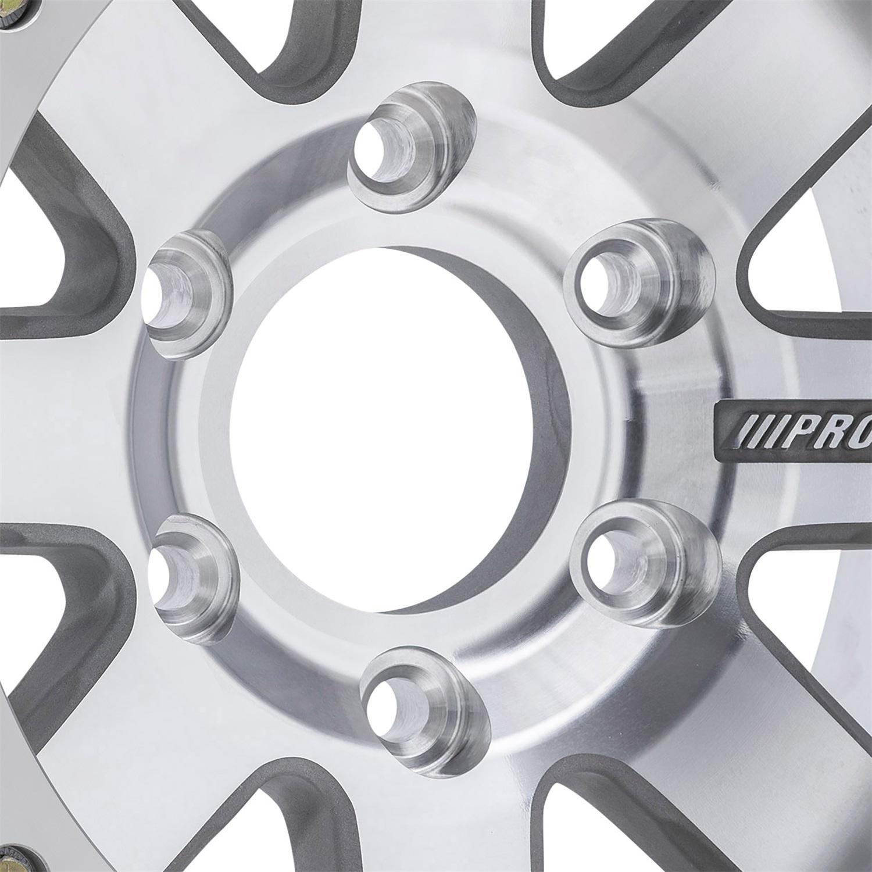 Pro Comp Wheels 1175-798337 Trilogy Race Super Machined Finish