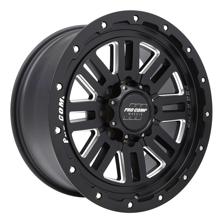 Pro Comp Wheels 5161-298250 Cognos Series Black Milled