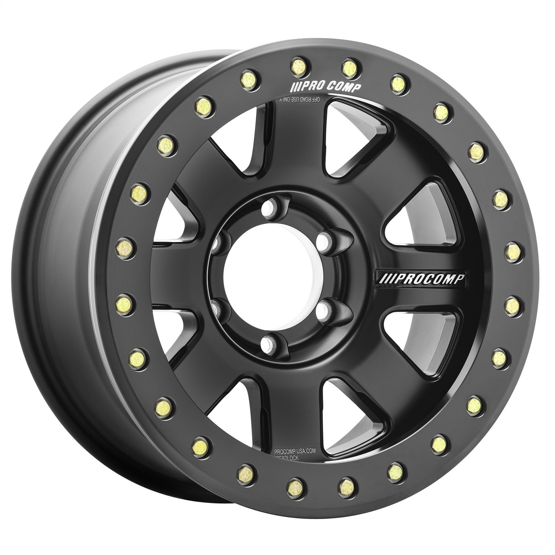 Pro Comp Wheels 5175-793647 Trilogy Race Satin Black