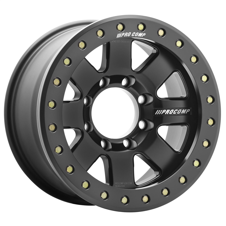 Pro Comp Wheels 5175-798247 Trilogy Race Satin Black