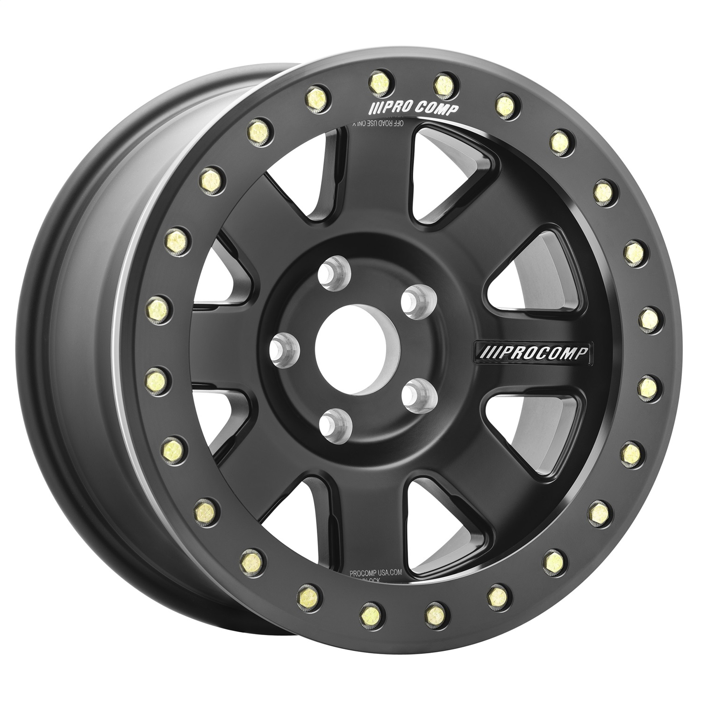 Pro Comp Wheels 5175-798547 Trilogy Race Satin Black