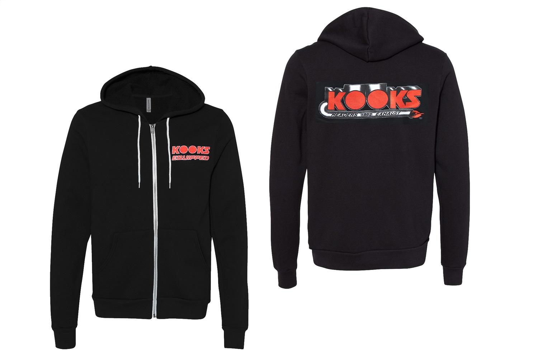 Kooks Custom Headers HS-100607-00 Kooks Logo Zip Up Hoodie