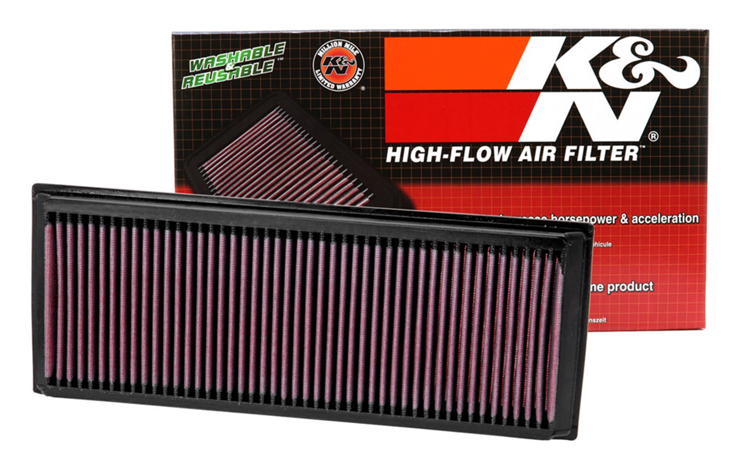 There are a wide range of K&N Air Filter promo codes, offers and deals from different stores. The list gets updated daily, and almost all of them are verified and free to use. Do check back often or bookmark the page for those K&N Air Filter offers: including 9 K&N Air Filter promo codes and 21 deals in December