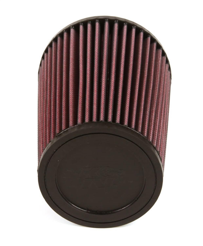 "K/&N Filters RU-2590 Universal Cone Air Filter 4/"" Inlet//7/"" Long//5.375/"" Diameter"
