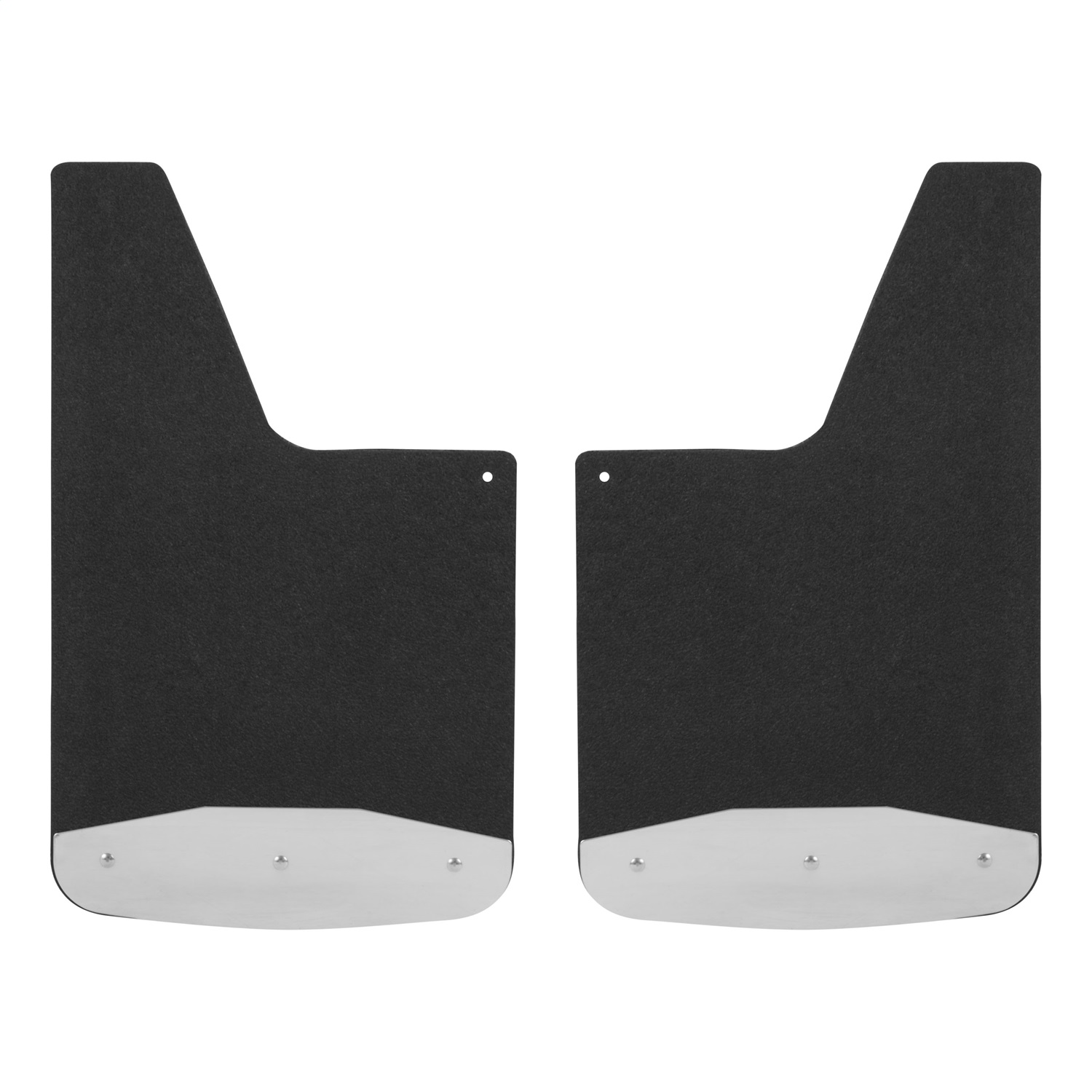 Universal Textured Rubber Mud Guards, 12 in. x 20 in.