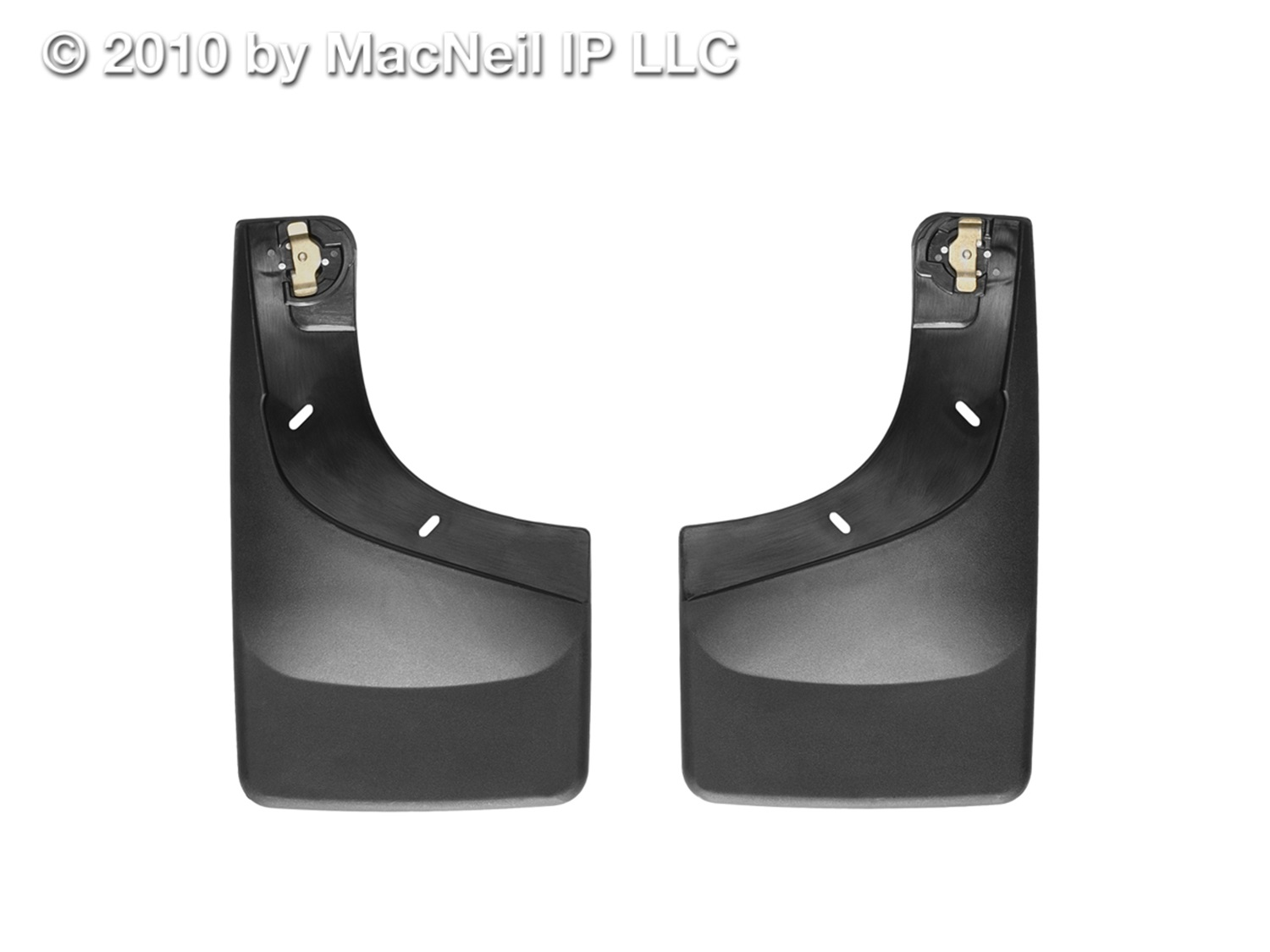 WeatherTech 110002 No Drill MudFlaps, Black