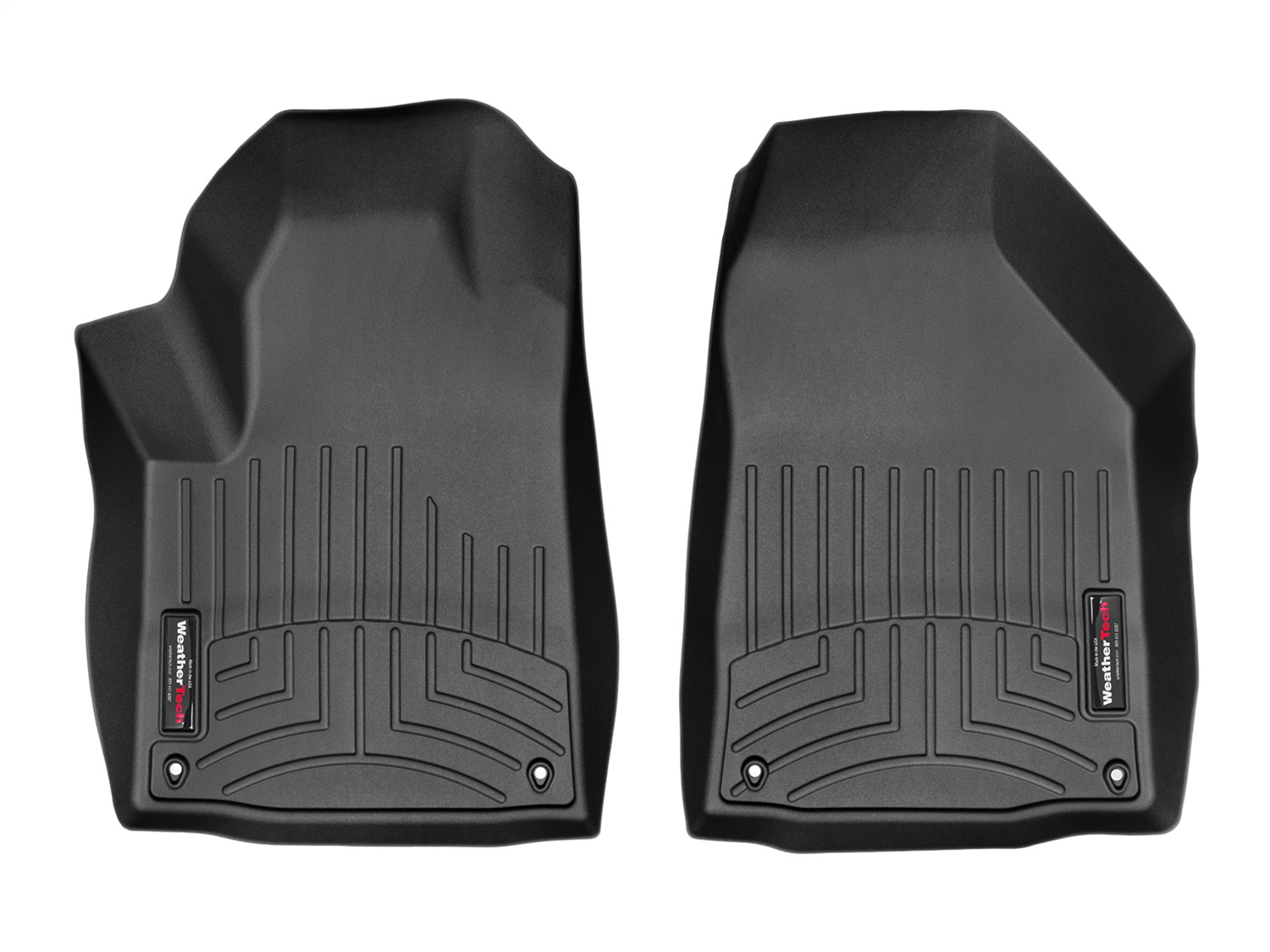 WeatherTech 448331 Front FloorLiner, Black