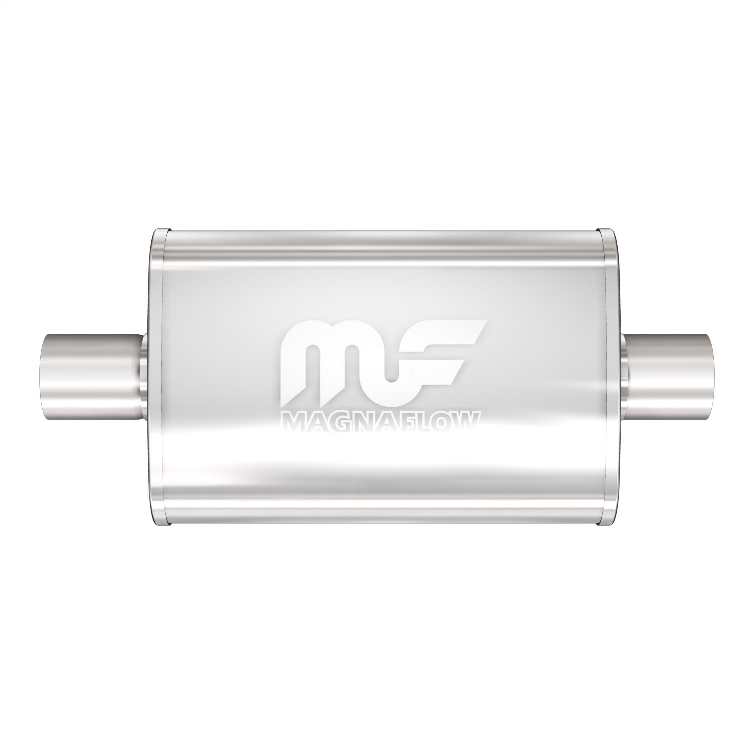 """MagnaFlow For Muffler DIA 2/""""//2/"""" Stainless Steel 3.5 X 7 OVAL Performance 11114"""
