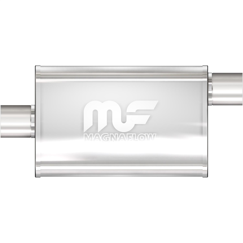 "5x8 Oval 14/"" Body MagnaFlow Muffler SS 12226 2.5/"" O//C"