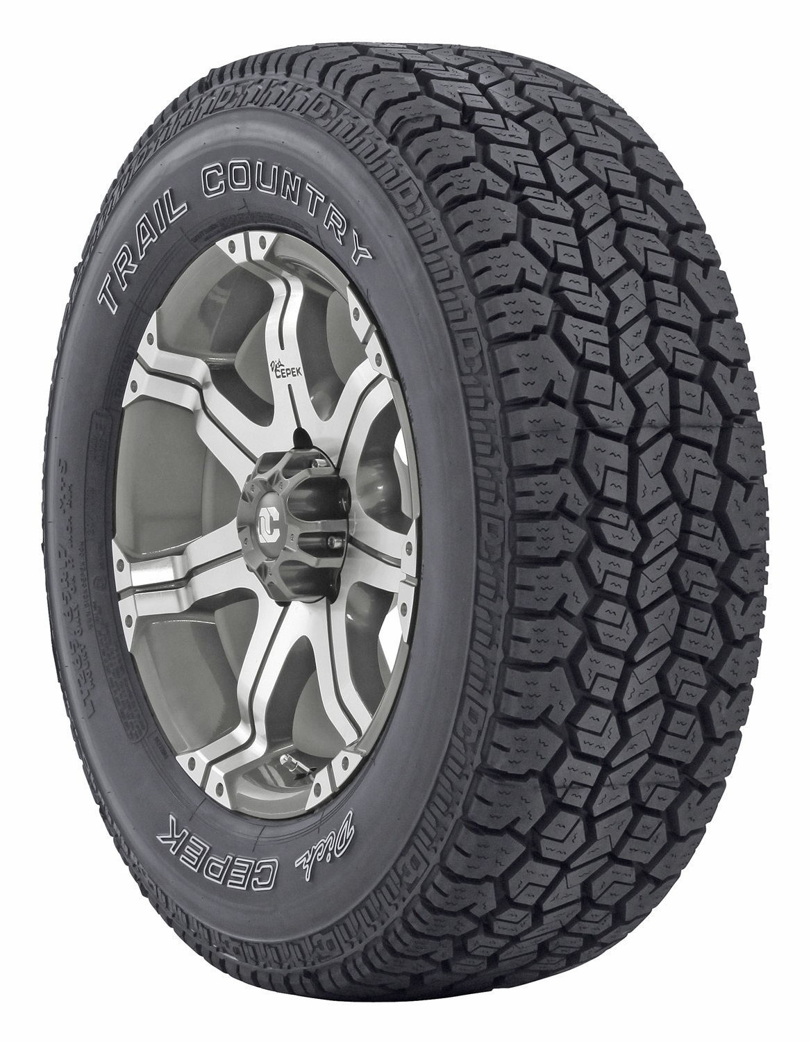 Mickey Thompson 90000002045 Dick Cepek Trail Country Tire