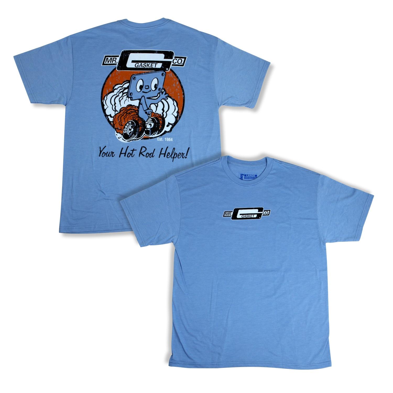 Mr Gasket 10069-LGMRG Mr. Gasket Corky T-Shirt