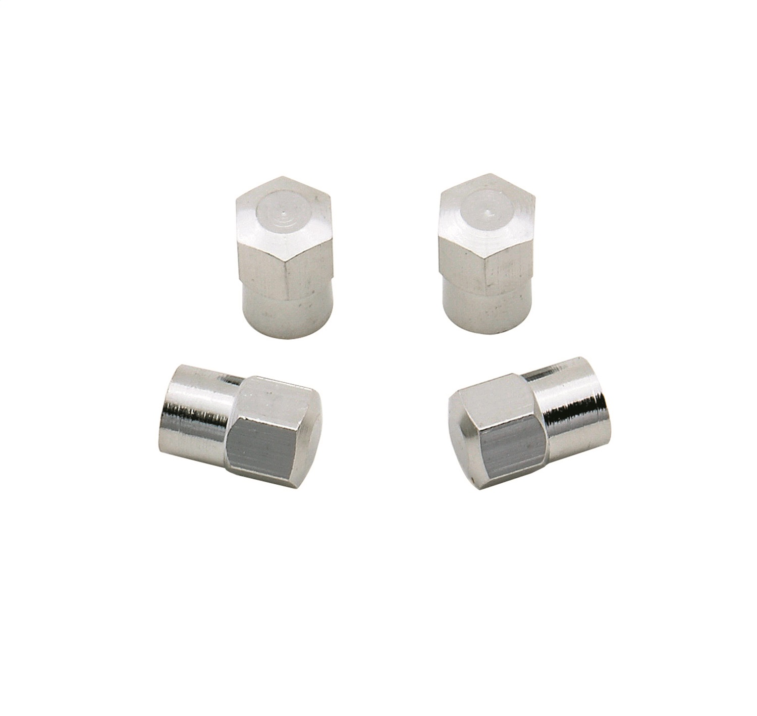 Mr Gasket 3663 Hex Chrome Valve Stem Caps