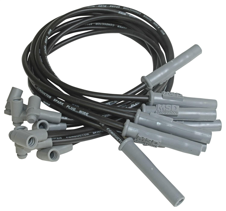 msd ignition 31363 spark plug wires big block chevy. Black Bedroom Furniture Sets. Home Design Ideas