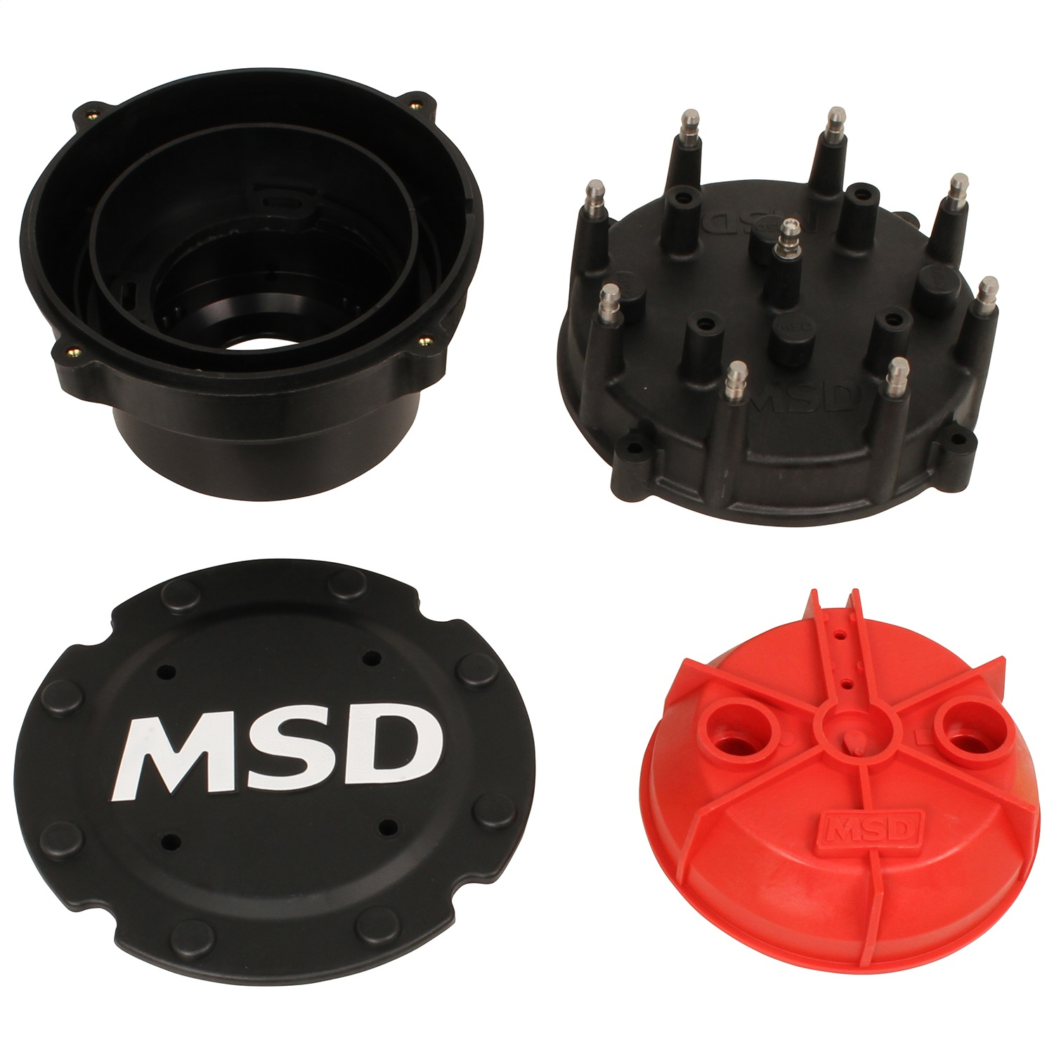 MSD Ignition 74553 Cap-A-Dapt Cap And Rotor