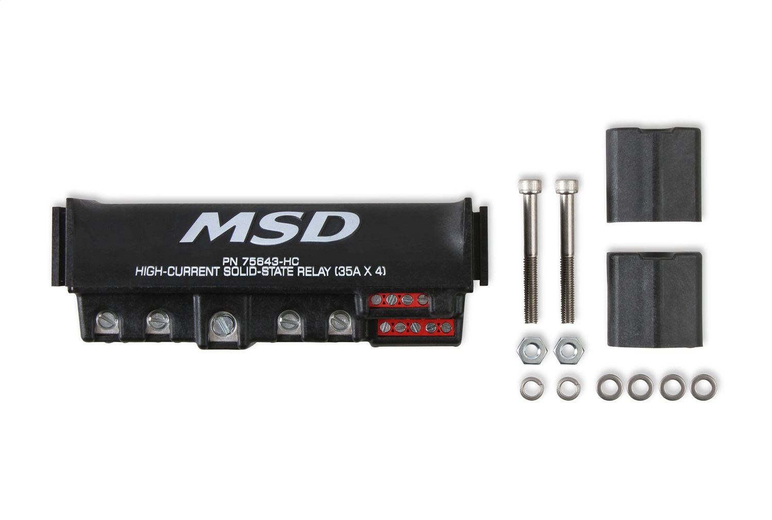 MSD Ignition 75643-HC High Current Relay Block