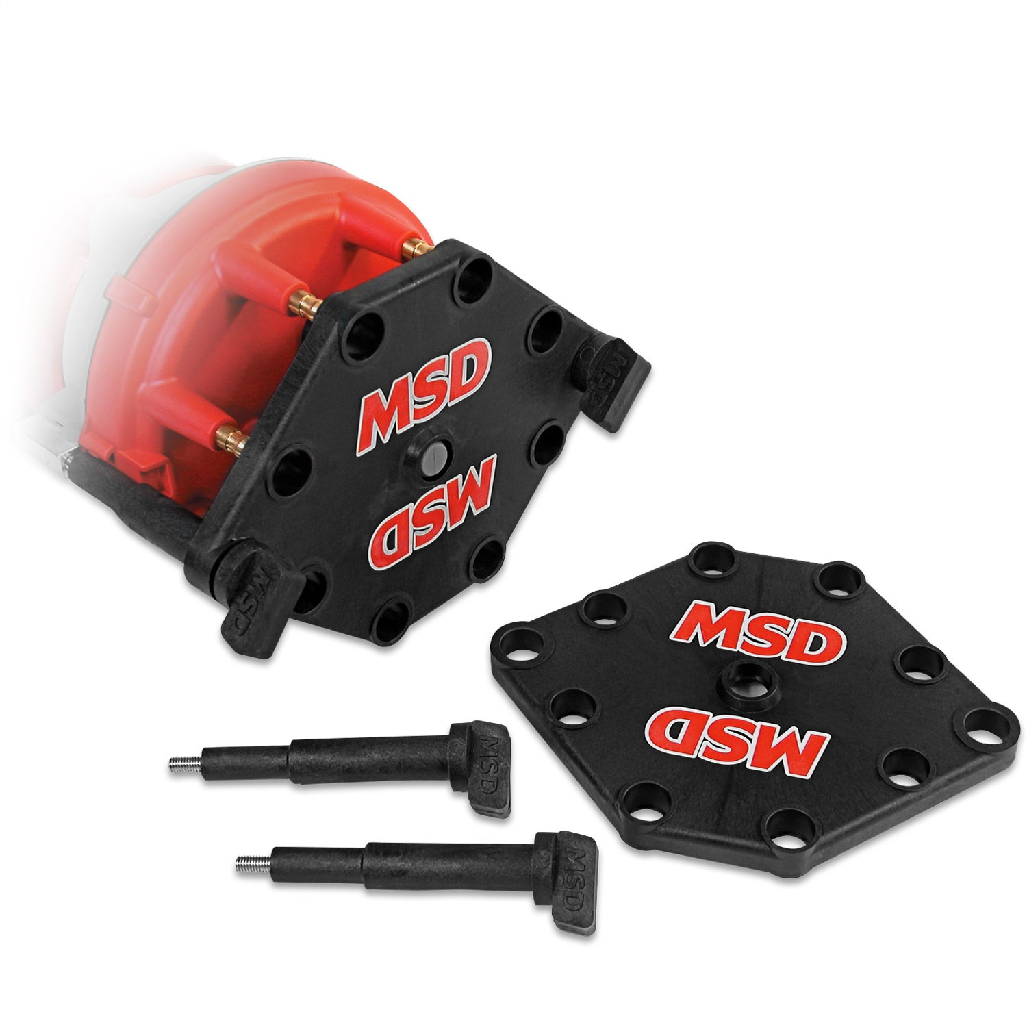 MSD Ignition 8121MSD Pro Mag Distributor Cap Hold Down