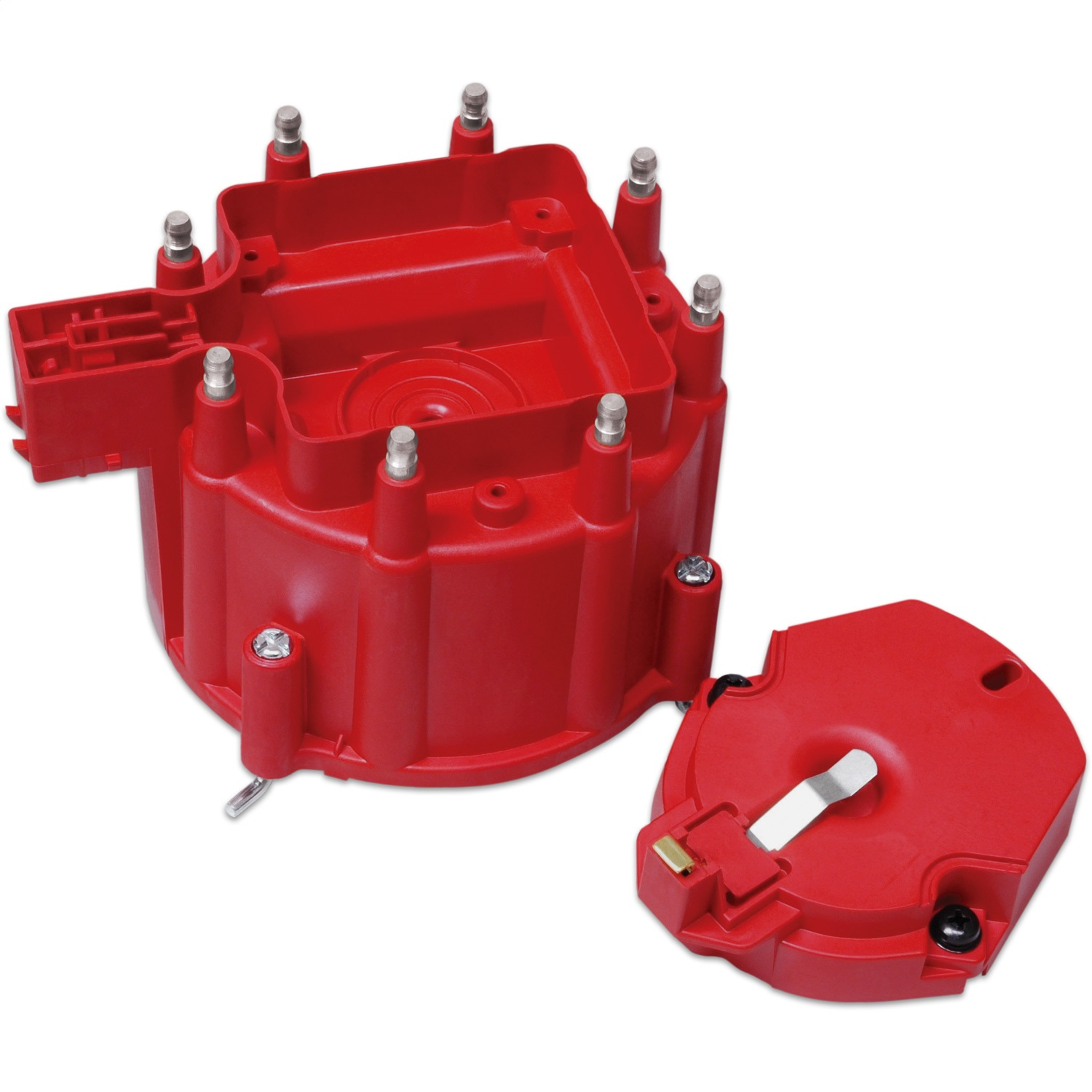 MSD 8416 GM HEI Red Distributor Cap and Rotor