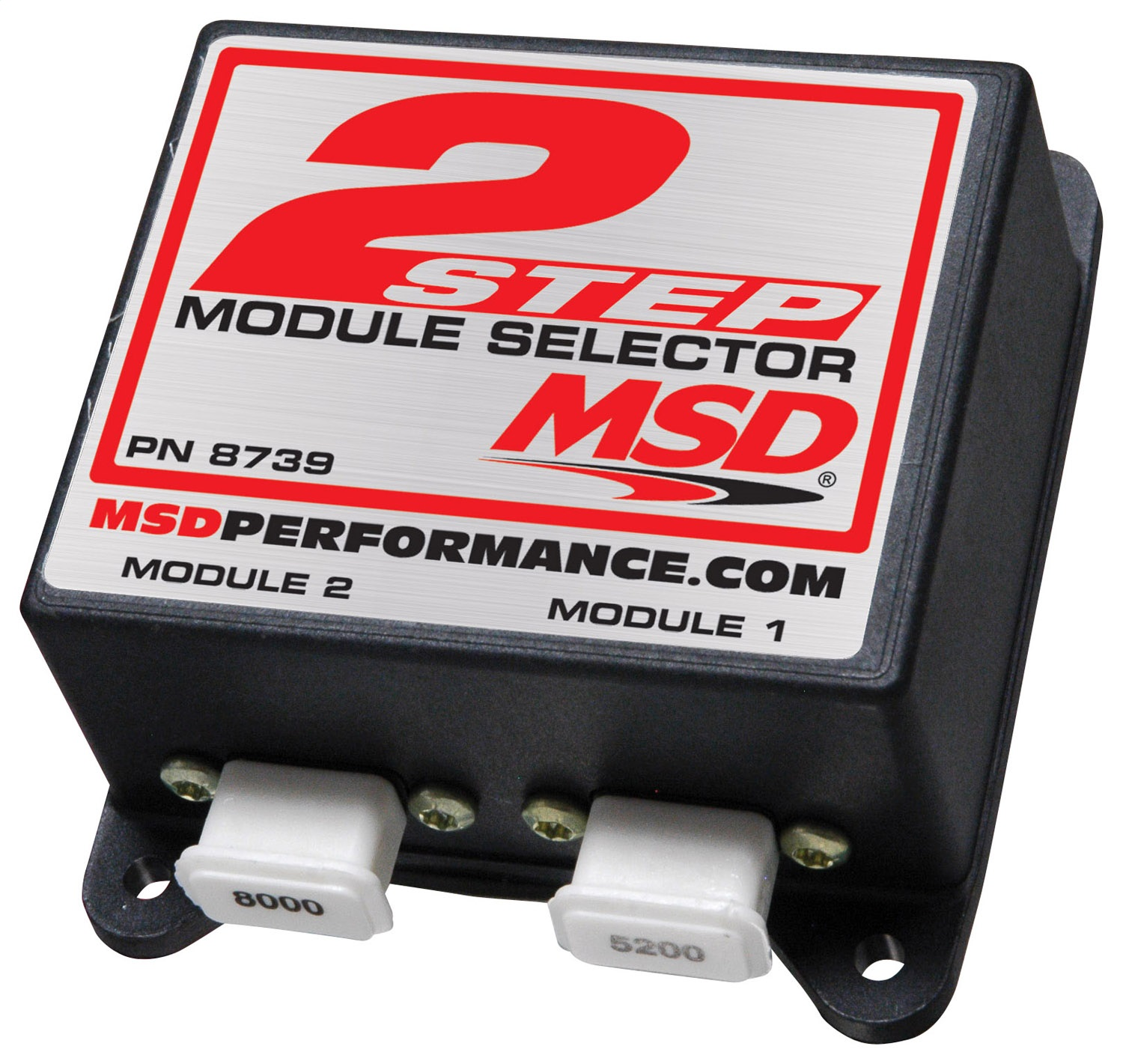MSD Ignition 8739 2-Step Rev Limiter RPM Module Selector
