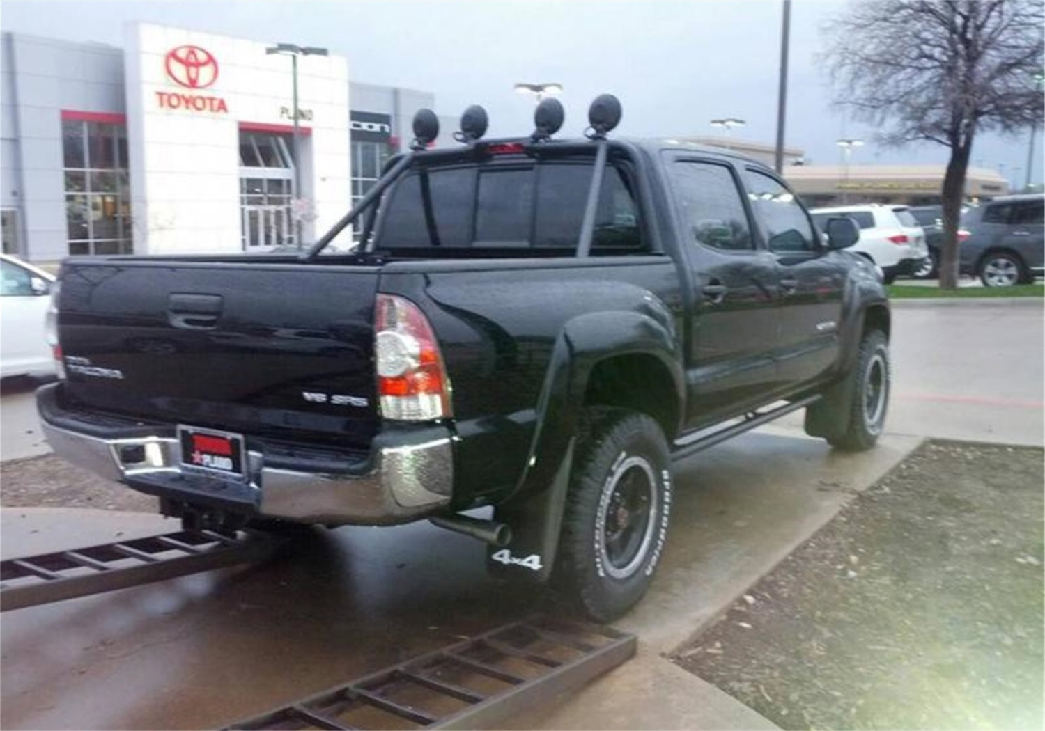 N-Fab T054BR Roof Mounted Light Bar Fits 05-15 Tacoma