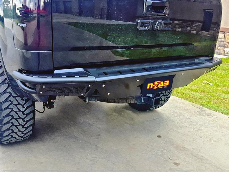 N-Fab T14RBS-H-TX RBS Pre-Runner Style Rear Bumper Fits 14-19 Tundra