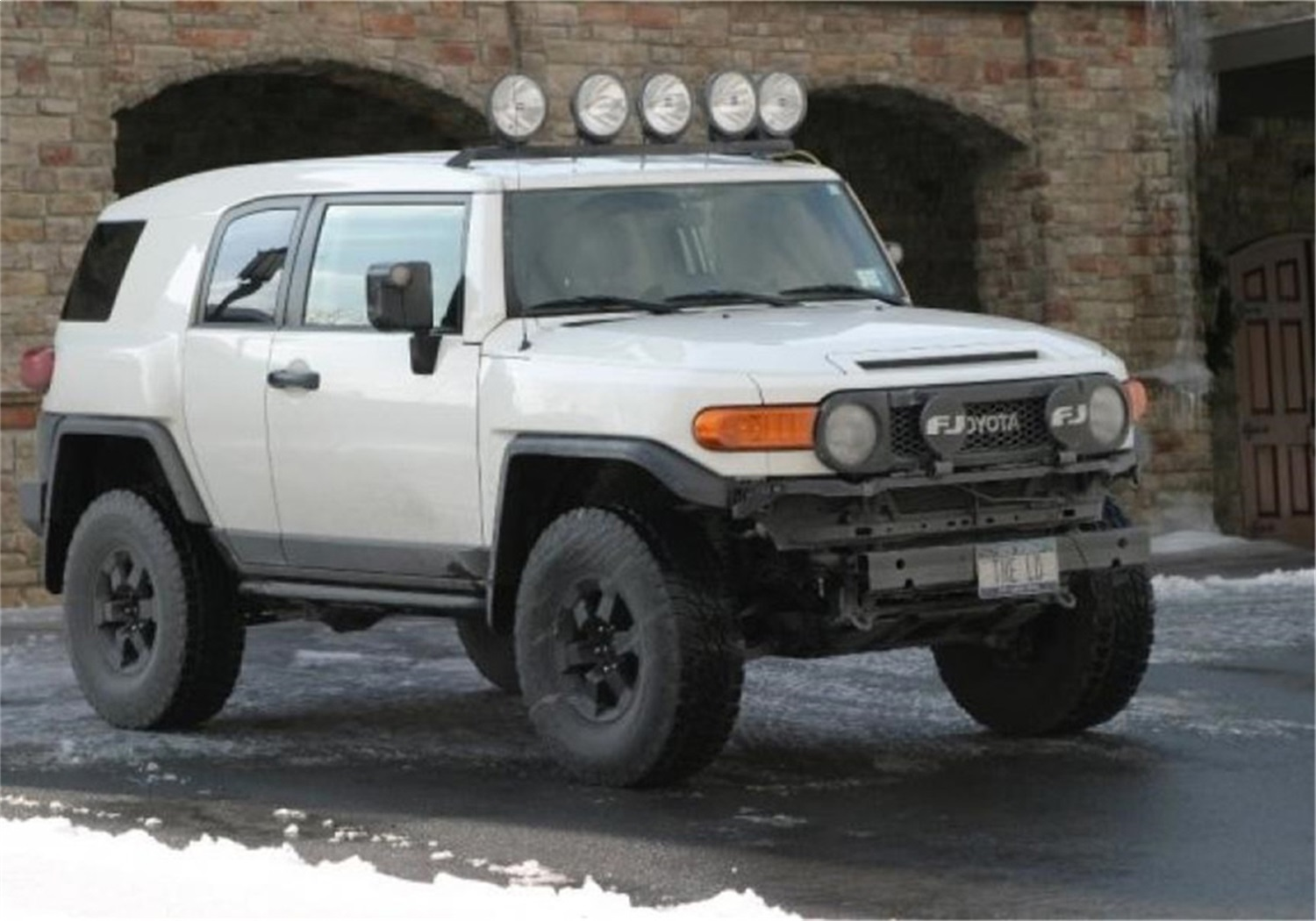 N fab tfj5flr roof mounted light bar fits 07 14 fj cruiser ebay n fab tfj5flr roof mounted light bar fits 07 14 fj cruiser mozeypictures Image collections