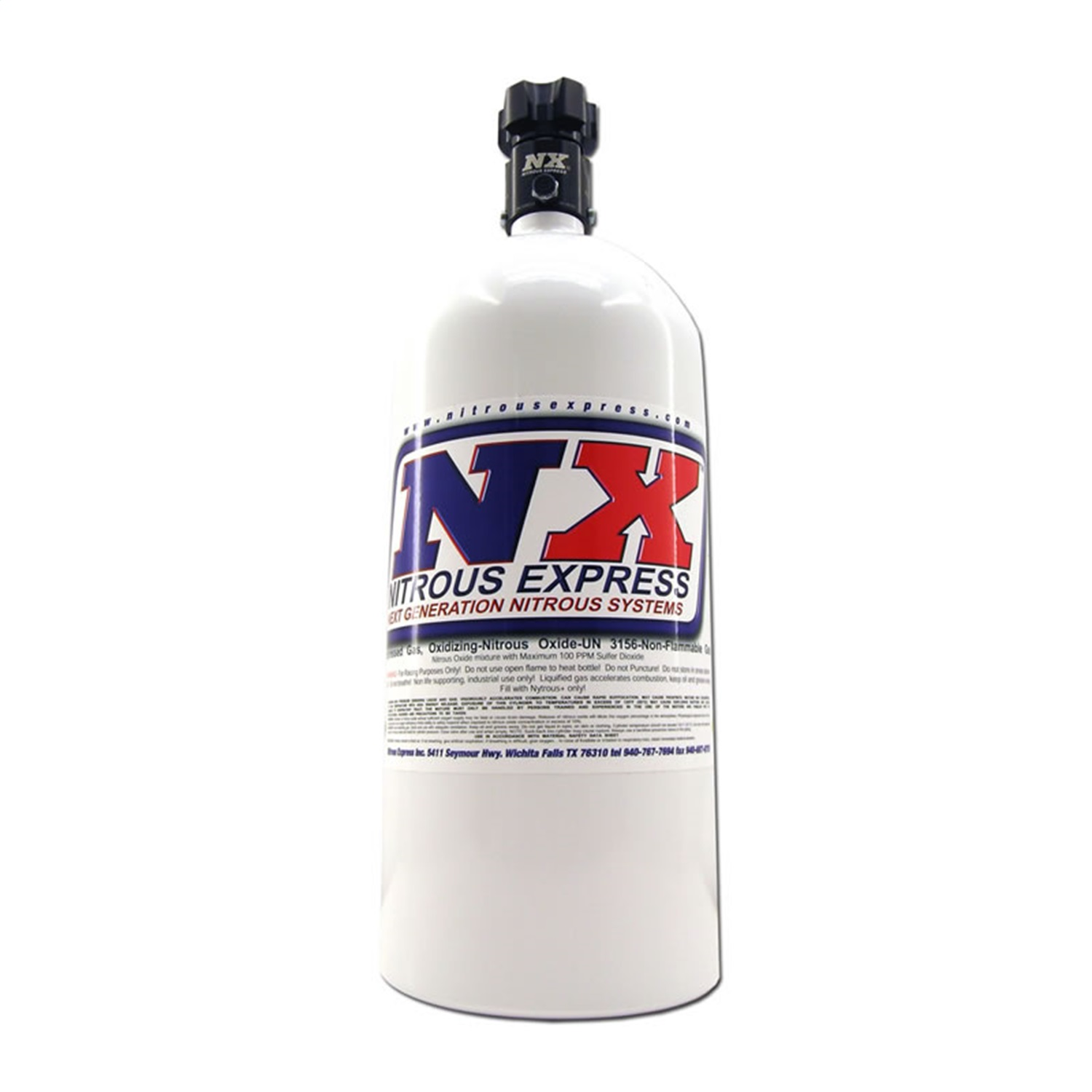Nitrous Express 11100 Nitrous Bottle