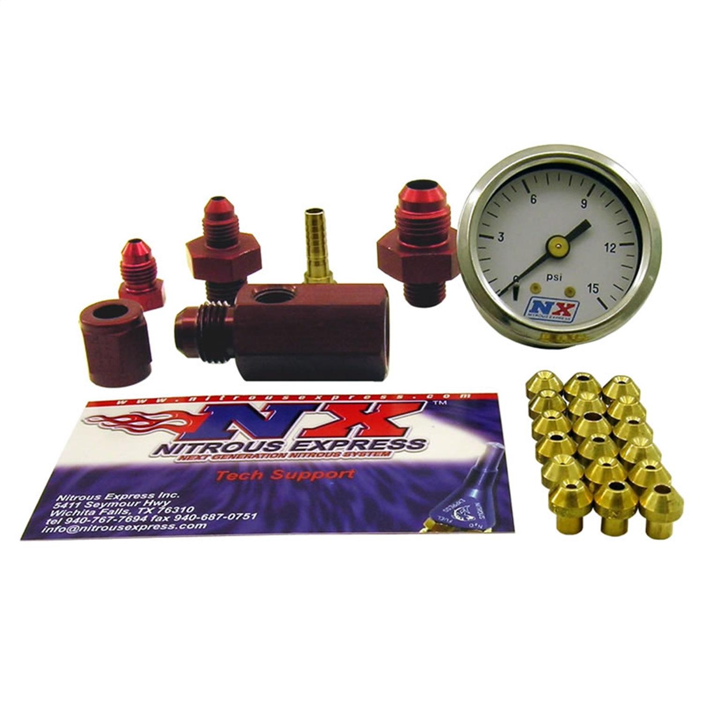 Nitrous Express 15519 Master Flo-Check Nitrous Pressure Gauge