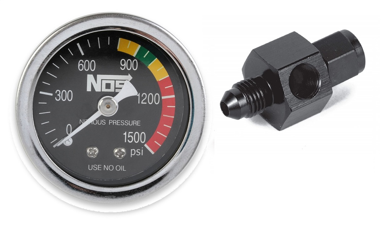 NOS 15921NOS Nitrous Pressure Gauge