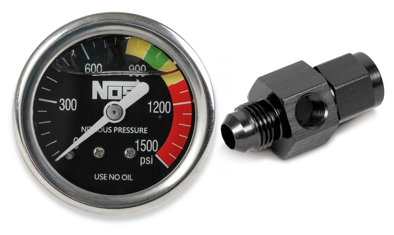 NOS 15929NOS Nitrous Pressure Gauge