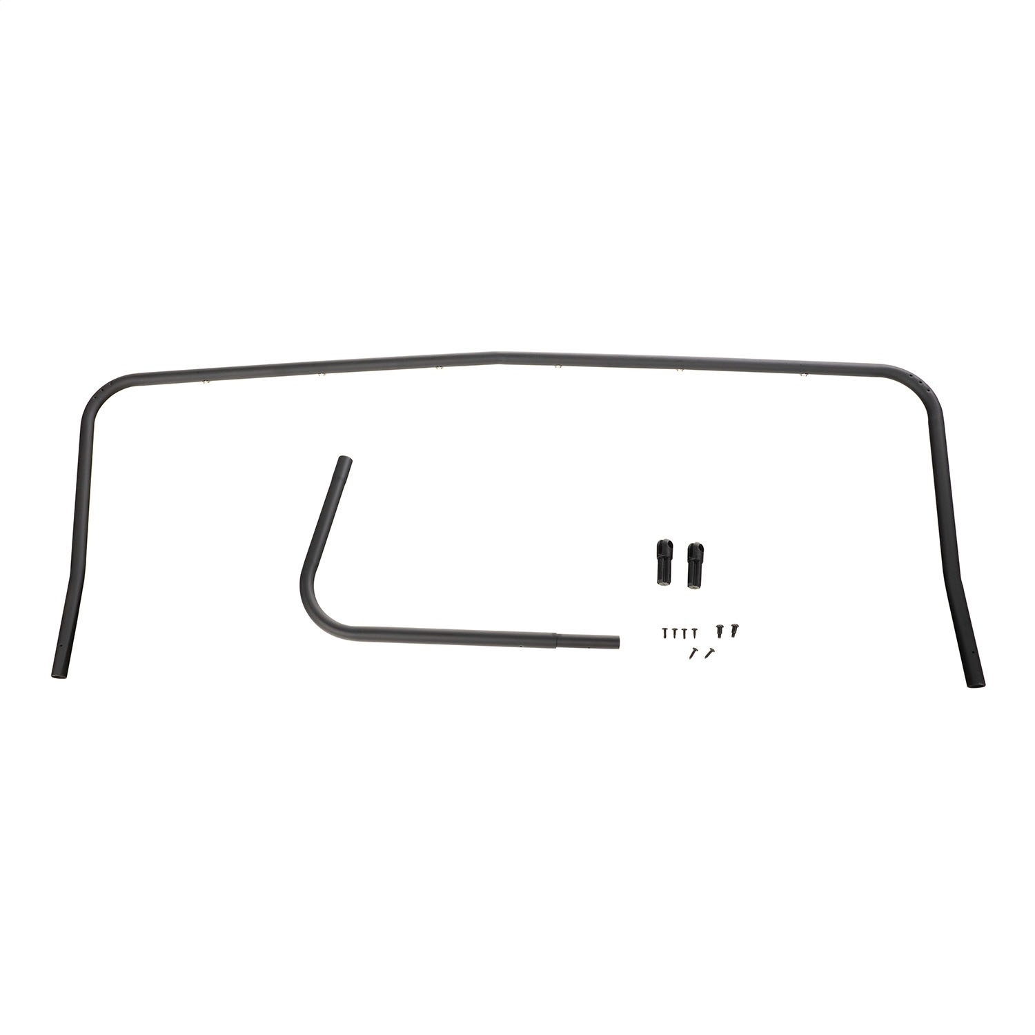 With Hardware 97-06 Jeep Wrangler TJ Soft Top Omix-ADA 13510.85 Front Cross Bow Set
