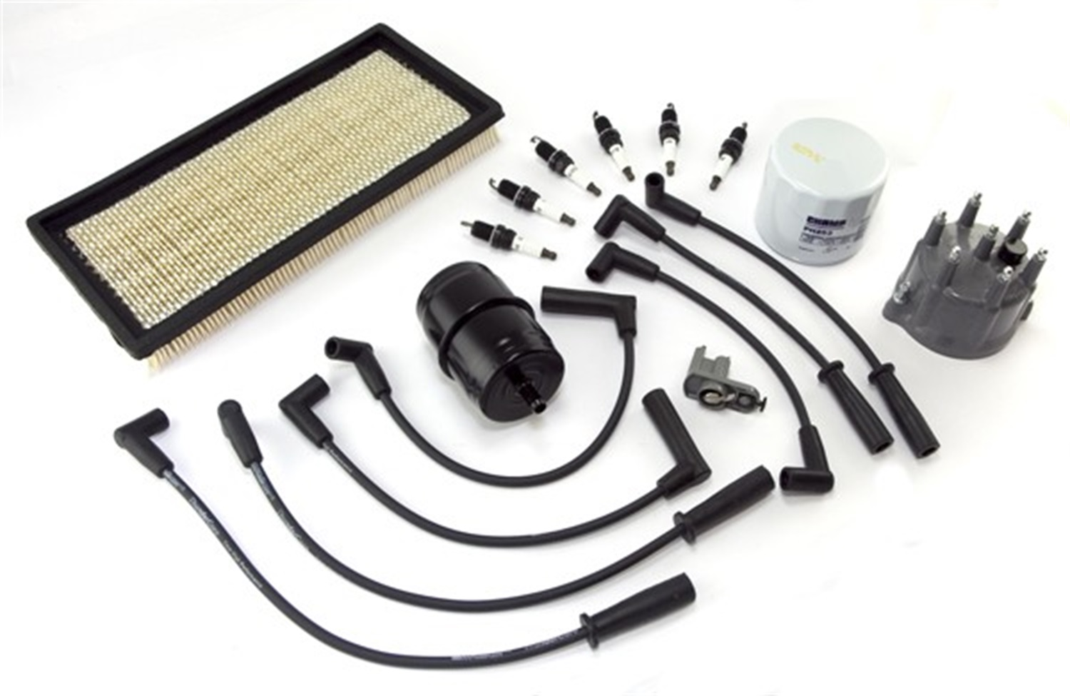 Omix-ADA 17256.06 Ignition Tune-Up Kit for 91-93 Jeep Cherokee 4.0L