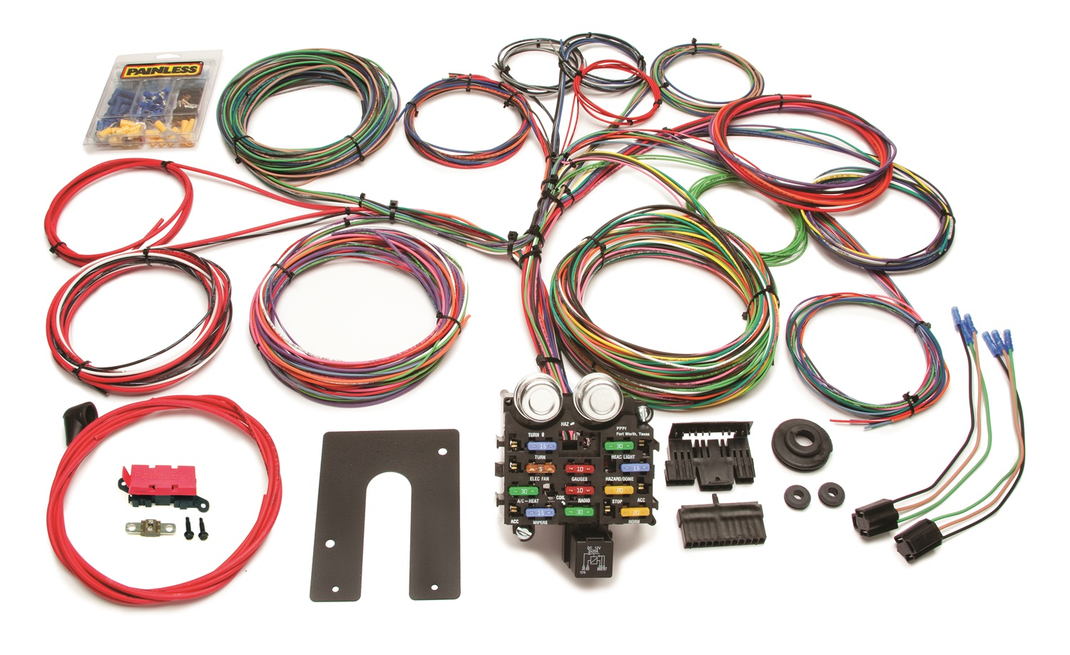 chassis wire harness painless wiring 10104 painless wiring logo painless performance 30815 headlight