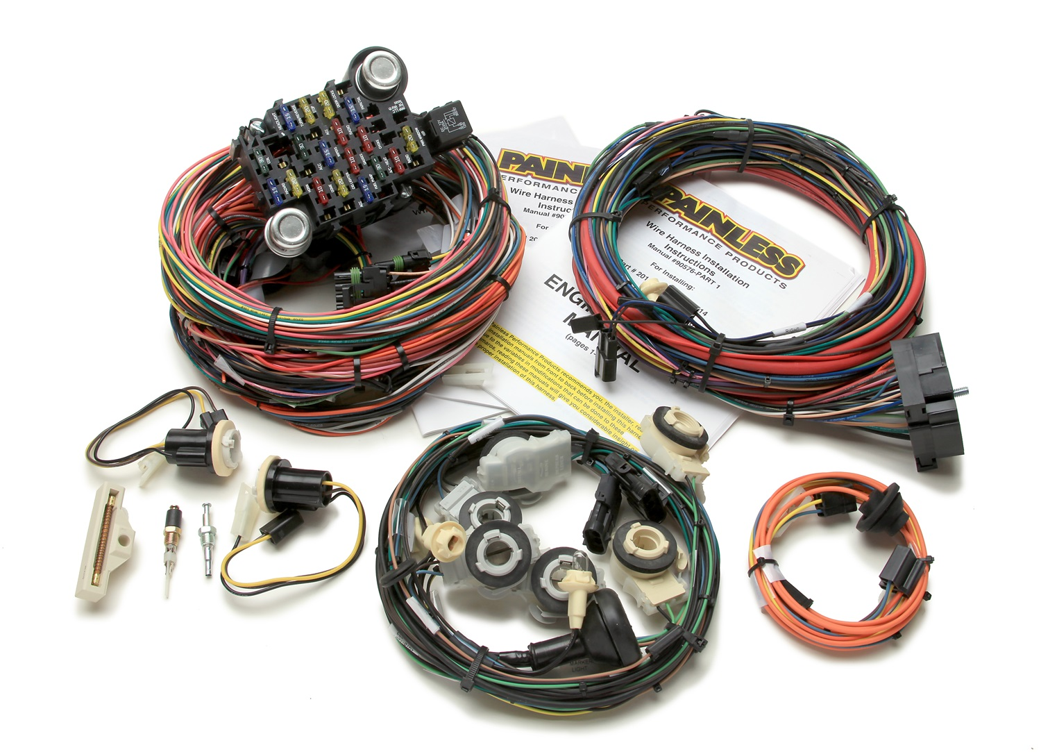 20114 CamaroHarness painless wiring 20114 26 circuit direct fit harness fits 78 81