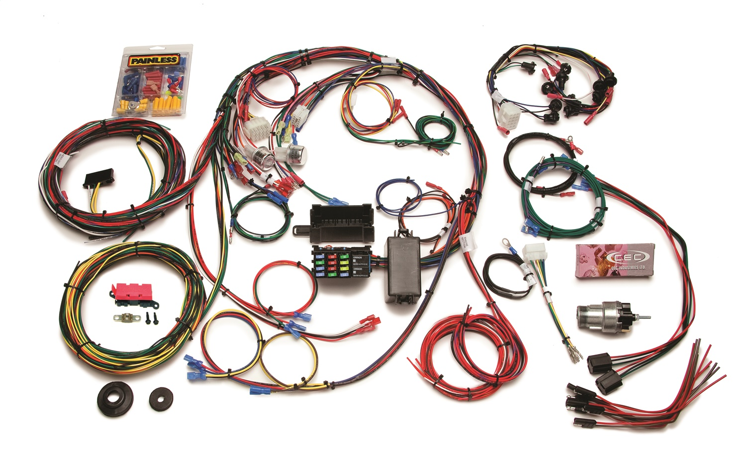 Painless 40 40 Circuit Chassis Wiring Harness