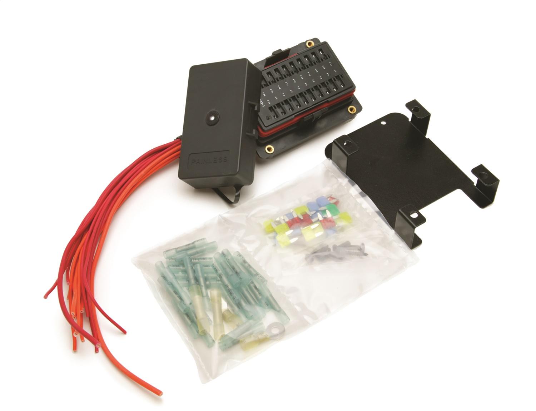 Painless Wiring 30004 20 Circuit Weatherproof Fuse Block Kit