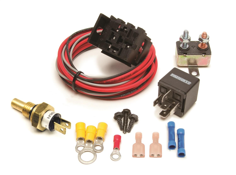 Painless Wiring 30106 Fan-Thom II Electric Fan Relay Kit