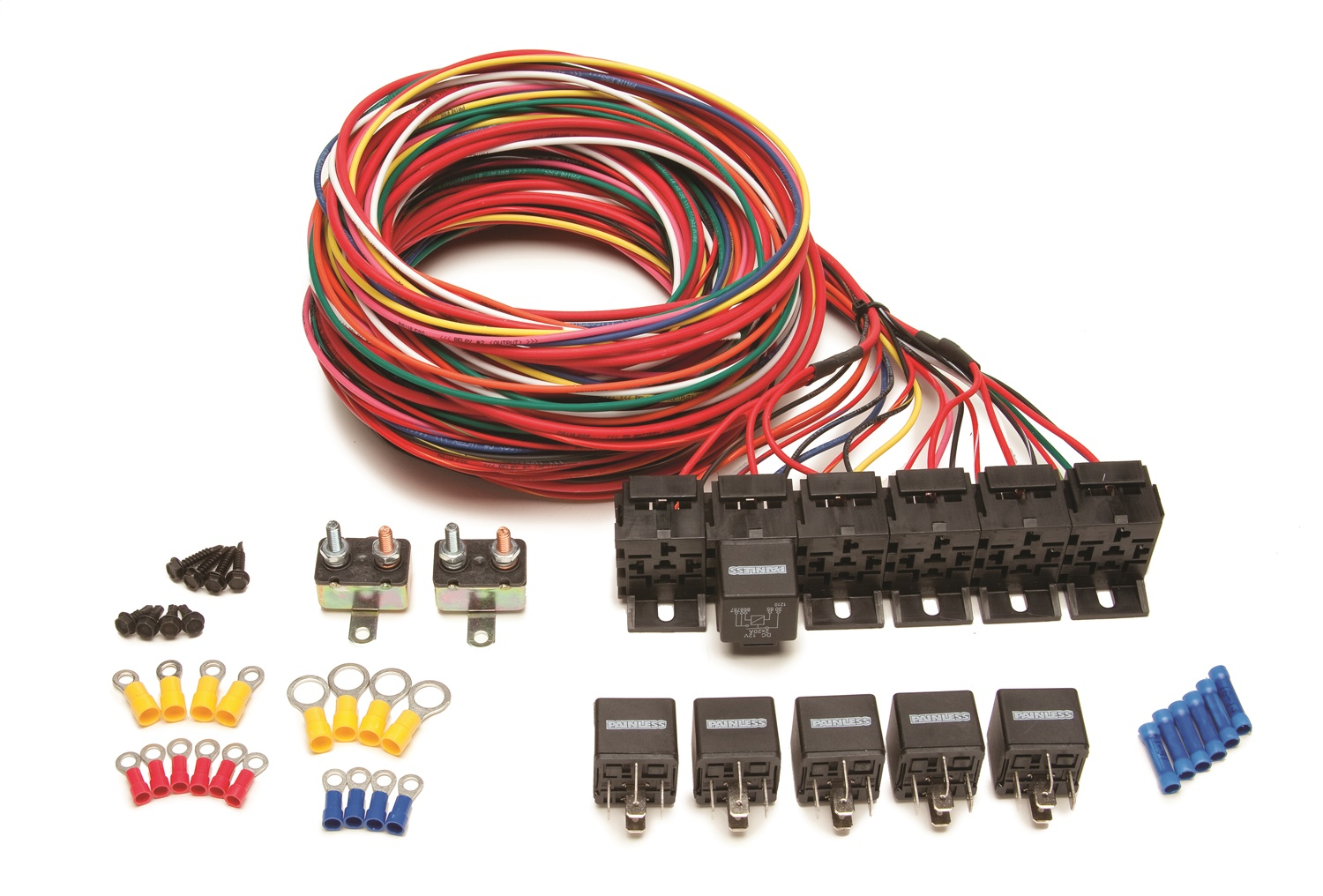 Pleasant Wrg 2228 Painless Wiring Harness Ebay Wiring Cloud Tobiqorsaluggs Outletorg