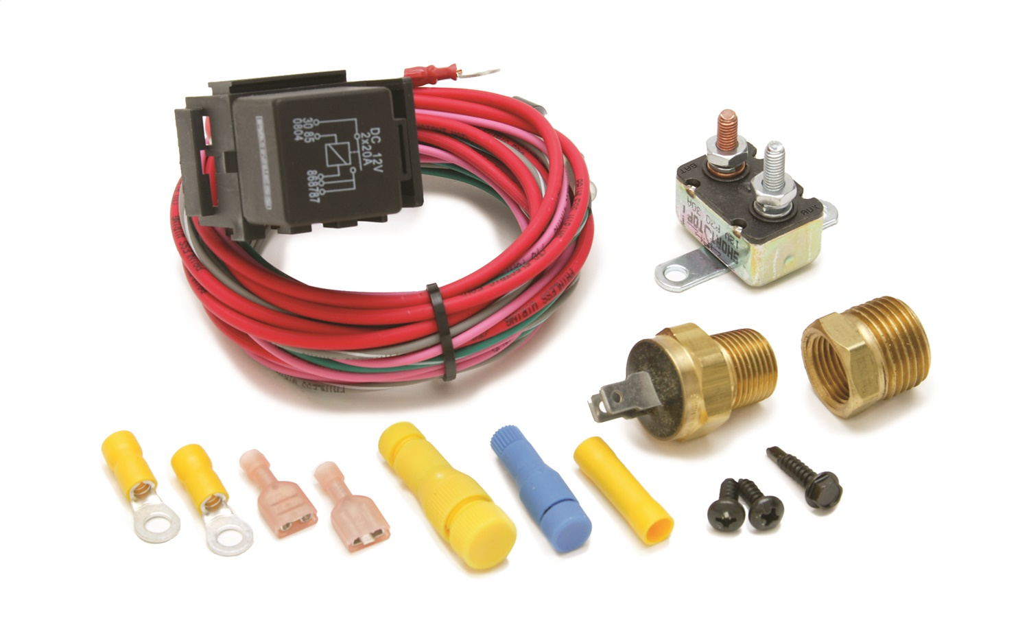 Painless Wiring 30114 Dual Activation Fan Relay