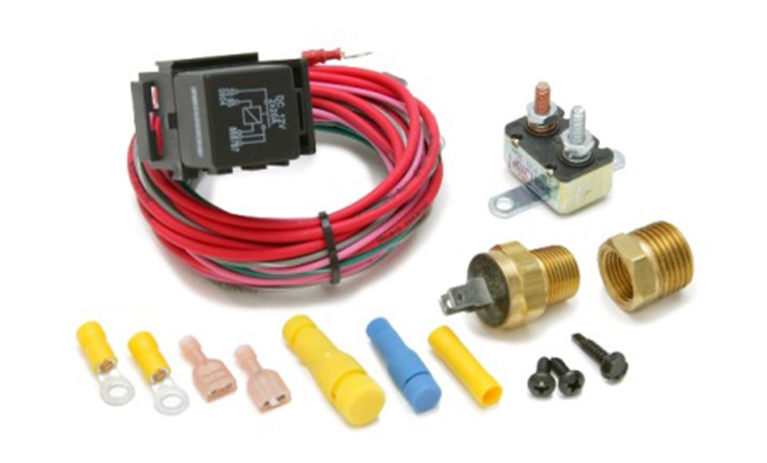 Painless Wiring 30115 Dual Activation Fan Relay