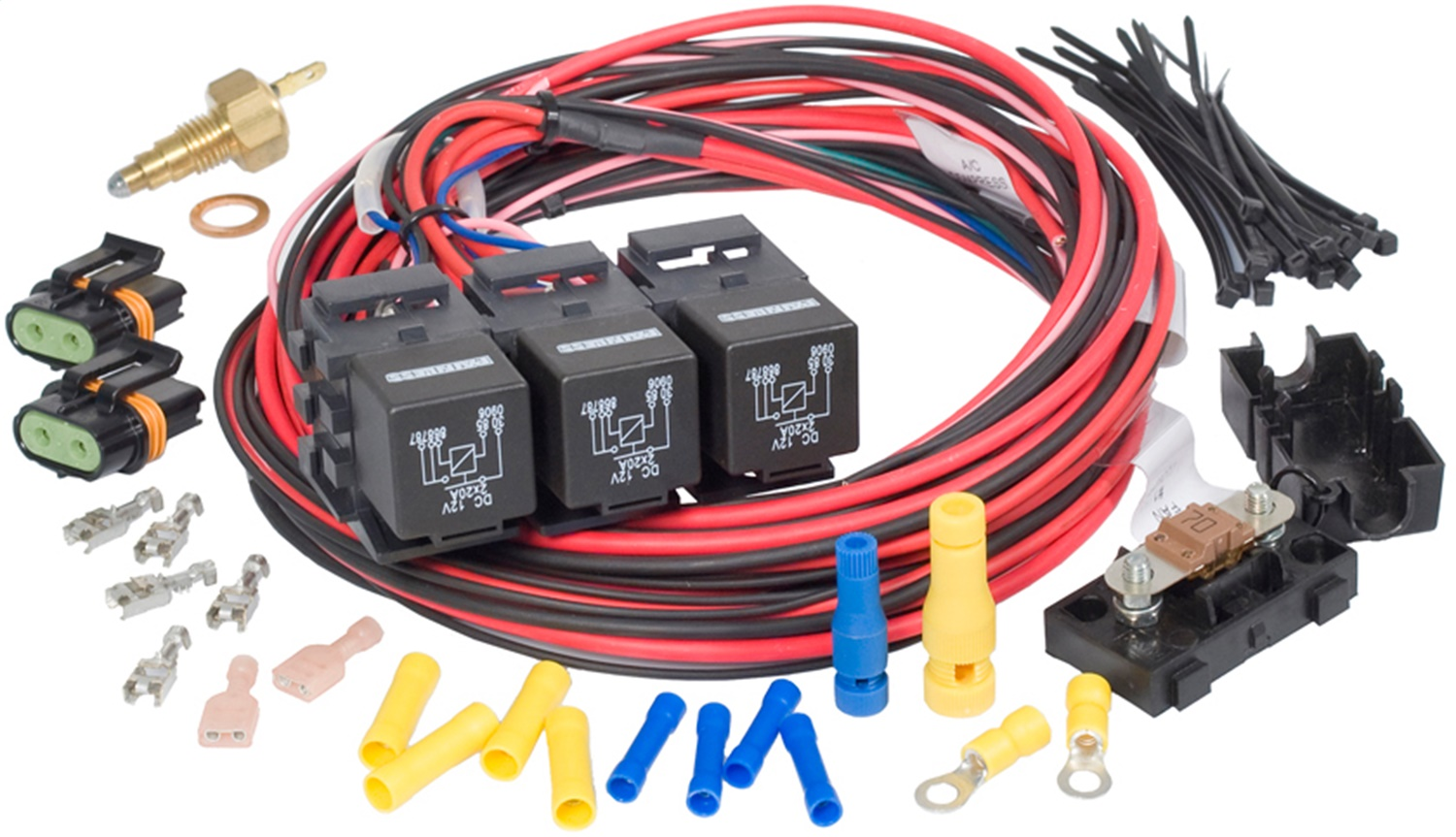 Painless Wiring 30118 Dual Activation Fan Relay