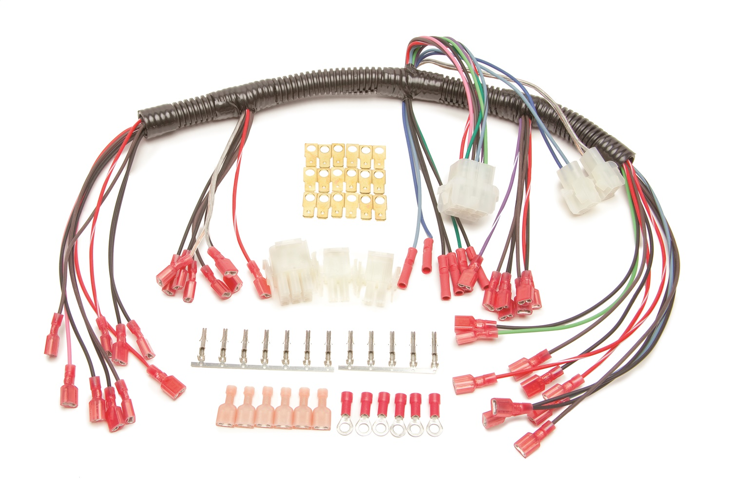 Painless Wiring 30302 Universal Autometer Gauge Dash Wire Harness w on 1987 chevy dash harness, 1967 chevrolet van dash harness, dash gauges, dash radio, 1971 chevelle dash harness, chevy suburban wire harness, 99 firebird dash harness,