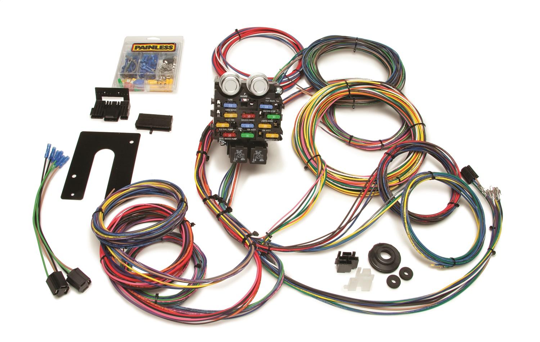 Painless Wiring 50002 21 Circuit Pro Street Harness Kit