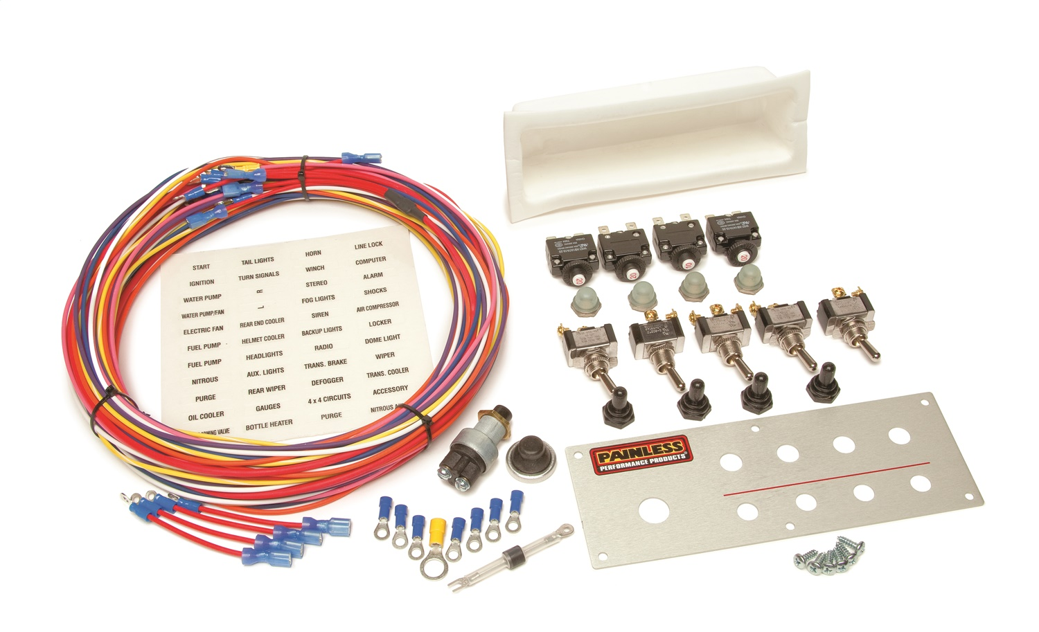 Painless Wiring 50334 Off-Road Toggle Switch Kit