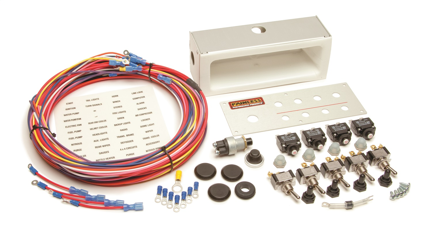 Painless Wiring 50335 Off-Road Toggle Switch Kit